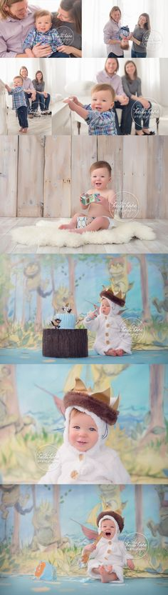 where the wild things are first birthday cakesmash