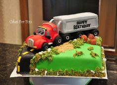 Remarkable Lorry Cakes Designs The Cake Boutique Funny Birthday Cards Online Alyptdamsfinfo