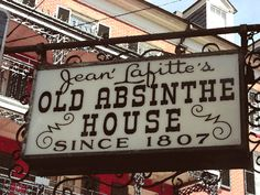 At the corner of Bourbon Street and Bienville, sits the stuff that legends are made of -- The Old Absinthe House. Many celebrities have been welcomed through our doors in the nearly two centuries since its opening -- including Oscar Wilde, P.T. Barnum, Mark Twain, Jenny Lind, Enrico Caruso, General Robert E Lee, Franklin Roosevelt, Liza Minelli and Frank Sinatra. Indeed, the walls throughout this incredible building are covered in the framed photographs of several of our famous patrons.