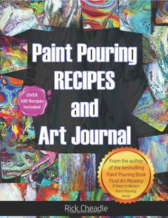Do you want to know the best acrylic pouring recipes? More and more people are creating amazingly colorful artwork by simply pouring… Pour Painting Techniques, Acrylic Pouring Techniques, Acrylic Pouring Art, Acrylic Art, Acrylic Paintings, Diy Painting, Painting Recipe, Flow Painting, Painting Abstract