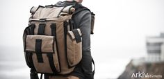 Build Your R6 Modular Arkiv Field Backpack With Your Ideal Kit of Weatherproof Accessories.