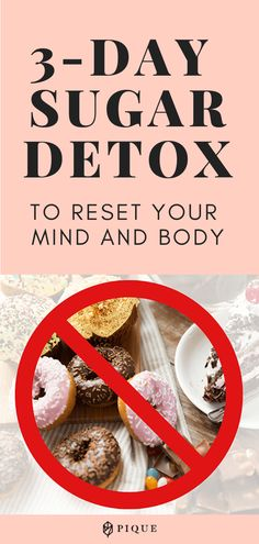 A high-sugar diet could be the culprit behind your health issues. Why not try a sugar detox to improve your health? Sugar Detox Plan, Sugar Detox Recipes, Sugar Detox Diet, No Sugar Diet, Diet Recipes, Detox From Sugar, Healthy Detox, Healthy Fats, Get Healthy