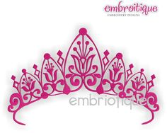 Oct - Dec - Royal Crown Princess Tiara on sale now at Embroitique!