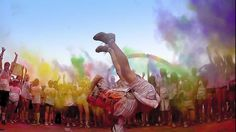 We love this colorful, fun video for The Color Run 2014. It's the perfect mixture of event film and marketing video.