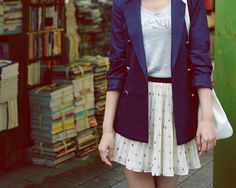 The skirt and the blazer, I love them.
