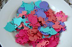Under the Sea Birthday Party Confetti Free Shipping. $4.00, via Etsy.