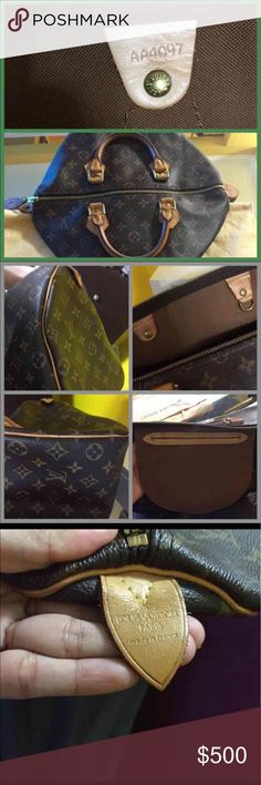 Louis Vuitton Speedy 35 💯 Authentic 💯% Authentic. This is my very first Louis Vuitton but it is in excellent condition. Used a few times only for special occasion. No locks or keys. For more info and pictures please let me know. Thank you Louis Vuitton Bags Satchels