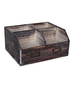Look what I found on #zulily! Distressed Desk Organizer #zulilyfinds