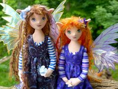 cloth doll fairy | owners they were fairy ears these cloth fairy dolls are a recent ...