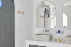 Mykonos, Faros - Stylish Villa with Amazing Sea Views Island Villa, Dream Beach Houses, Greek House, Shared Bathroom, Interior Design Work, Boutique Homes, Comfortable Sofa, Sit Back And Relax, Paros