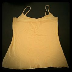 Express Tank Top Yellow, gently used Express Tops Tank Tops
