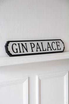 #gin #sign #quirkysign #signage #streetsign #quirkydecor #wallart #wallhanging #wallaccessories #rockettstgeorge Wooden Plaques, Wall Plaques, Wall Signs, Wooden Signs, Cracked Paint, Drinks Trolley, Rockett St George, Paint Effects, Get The Party Started
