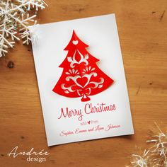Christmas Card  Instant DOWNLOAD  EDITABLE by AndreeDesignStudio Christmas Paper, Christmas Cards, Merry, Handmade Gifts, How To Make, Design, Christmas E Cards, Kid Craft Gifts, Xmas Cards