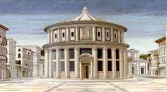 Leon Battista Alberti, Città ideale, Urbino, Galleria Nazionale delle Marche