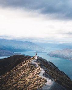 Roys Peak. Wanaka, New Zealand