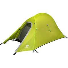 1 Person Camping Tent Rain Fly Canopy Hiking Hunting Gear Supplies Outdoor Beach #ozark #campingtent