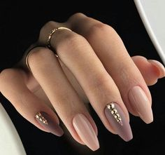 nude nails #nails #nailart
