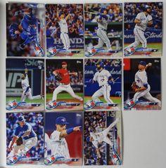 2018 Topps Series 1 Toronto Blue Jays Team Set of 11 Baseball Cards Baseball Live, Baseball Games, Baseball Jerseys, Baseball Tickets, National Baseball League, Wsu Basketball, Baseball Sunglasses, Toronto Blue Jays, Major League