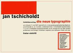 jan tschichold typography | JAN TSCHICHOLD | albertobarbieri1971