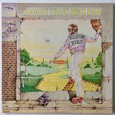 Elton John Goodbye Yellow Brick Road Double LP Vinyl Record