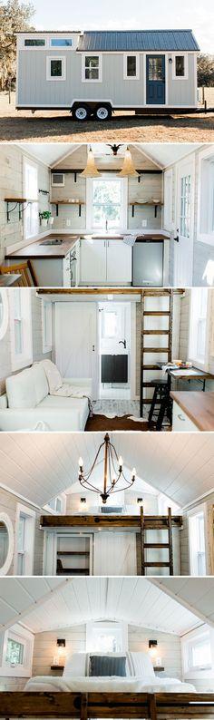 Casa contruída em carroceria, espaço muito bem utilizado