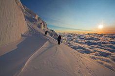 climbing mountaineering
