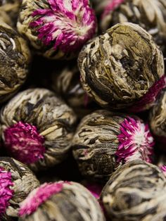 Blooming Lotus is a beautiful combo of hand-tied Mao Feng White Tea leaves as the base with eight Jasmine Flowers in the center. Flower Tea, Blooming Flowers, Teas, Jasmine, Lotus, Green, Beautiful, Lotus Flower, Tees