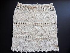 Crochet: Falda Daniela - YouTube