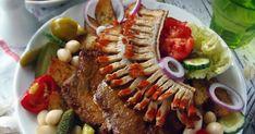 Egy igazán ütős hétvégi főétel. A legfinomabb magyar ételek közt tartják számon. Nálam kizárólag sertéstarjából ... Food And Drink, Beef, Dinner, Meat, Dining, Food Dinners, Steak, Dinners