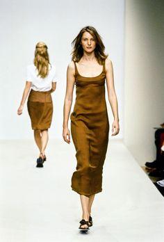Prada Spring 1996 Ready-to-Wear Fashion Show - Cecilia Chancellor