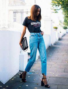 calça assimetrica street style