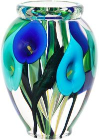 Calla lily vase by Scott Bayless
