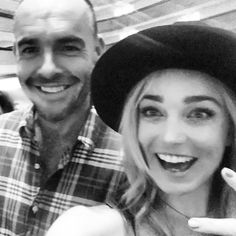 Caity Lotz and Paul Blackthorne #DragonCon