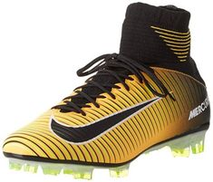 Shop the latest collection of Nike Men's Mercurial Veloce III DF FG Soccer Cleat from the most popular stores - all in one place. Similar products are available. Nike Soccer Shoes, Nike Shoes, Best Football Cleats, Football Gear, Baskets, Laser, Western Boots, Shoes Online, Loafers Men