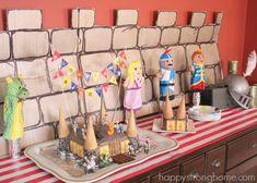 knight in shining armor birthday party ideas