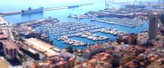 Pinned from the I Spy Camping blog:Alicante - View of Port from Castle Santa Barbara