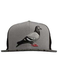 Staple Clothing Mitchell And Ness Pigeon Snapback Hat - Black $30.00 #staple #mitchelandness #pigeon