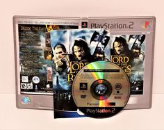 PLAYSTATION THE LORD OF THE RINGS THE TWO TOWERS PLATINUM GAME PS1 PS2 PS3 PAL