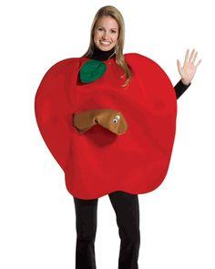 Adult Apple Costume, Apple Halloween Costume