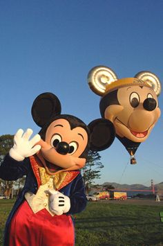 Mickey Mouse & the Mickey Hot-Air Balloon