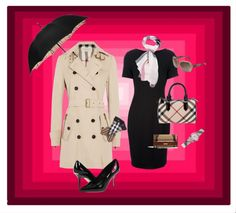 """""""Burberry Addicted...GlamChicWall"""" by glamchicwall on Polyvore"""