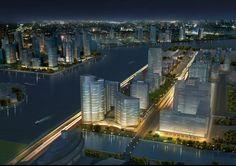 Dubai Waterfront, Marina Bay Sands, Opera House, Luxury, City, Building, Travel, Viajes, Buildings