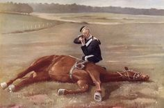 A Scout From The Carabiniers, 6Th Dragoon Guards, Cavalry Regiment Of The British Army Firing From Behind His Horse. From The Book South Africa And The Transvaal War By Louis Creswicke, Published 1900. Poster Print (18 x 11)