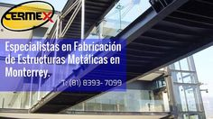 Cermex le ofrece el diseño fabricación y montaje de estructuras metálicas y herrería. Atendiendo al mercado residencial comercial e industrial. www.cermex.mx