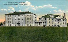 MONTANA - Dormatory at Montana State Normal College, Dillon; c.1912  POSTCARD