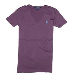 Ralph Lauren Sport Women Lightweight V-Neck T-Shirt ♥