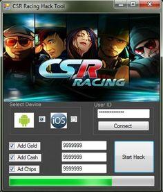 CSR Racing Hack Cheat Tool http://gamesfixer.com/csr-racing-hack/