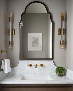 Instagram Diy Bathroom Decor, Bathroom Interior Design, Home Decor Bedroom, Interior Office, Bathroom Trends, Decor Room, Bathroom Designs, Bathroom Ideas, Wall Decor