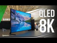 Samsung QLED 8K Q900R: Así se ve una RESOLUCIÓN 16 VECES MAYOR que Full HD - YouTube Smart Tv, New Television, Internet Tv, Samsung, Tablets, Greater Than, Flat Screen, Smartphone, Television Set