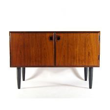 Retro Vintage Danish Design Rosewood Sideboard Cabinet 1970s Mid Century Modern